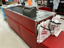 Express Checkout Counter Motorized Belt Check Lane Used Grocery Store Fixtures