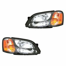 Fits Subaru Outback Legacy Driver Passenger Side Headlight Lamp Assembly 1 Pair