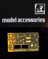 Hauler Models 1/72 POLISH PRAGA RV TRUCK Photo Etch Detail Set