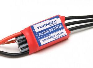 New Turnigy Plush-32 100A ESC (2S 6S) Brushless Speed Controller w/BEC REV 1.1.0