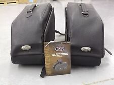 River Road Large classic zip-off slant saddle bag (108992)