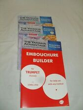 Trumpet Lesson books Lot of 4
