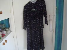 WOMENS St MICHAEL M&S 2 PIECE TOP AND SKIRT SIZE 14 FLORAL DESIGN