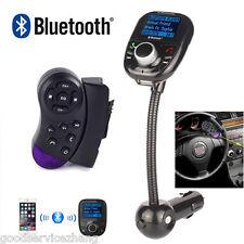 Steering Wheel Control+LCD MP3 Bluetooth Player Transmitter Radio FM Modulator