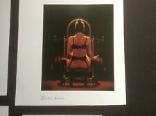 4 x Jack Vettriano Nude Erotic Female book plates/prints ideal for framing