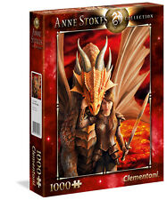 Clementoni Puzzle 1000 Teile Anne Stokes: Inner Strength (39464)