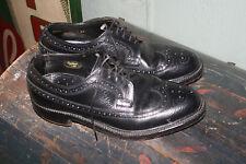 Vtg V Cleat Nail Leather Wingtip Shoes Stuart Holmes CUSTOM CRAFT 8 - 8.5 D?