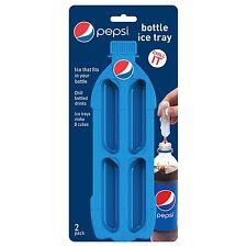 Jokari Pepsi Modern Bottle Ice Tray / Mold - 2pk