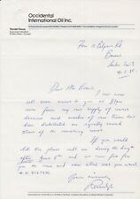 ANTARCTIC TERRITORY ETC STAMPS 1985 LETTER SIGNED RANULPH FIENNES EXAMPLE 2