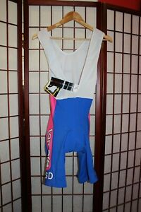 Lampre ISD Team Nalini cycling bib shorts. size 6 .Brand new- with Tags! . ALY