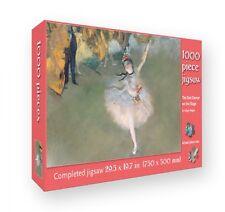 La star: Danseuse sur la scène (Degas) ~ 1000 Piece Jigsaw Puzzle flametree New