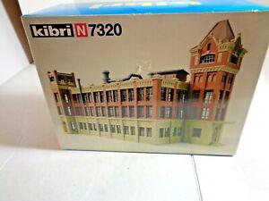 "Kibri N Scale # N 7320 Spielwarenfabrik GmbH  "" Toy Factory"" in Box"