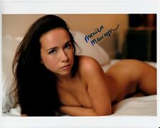 MONIKA MARCICZKIEWICZ hand-signed TOTAL NUDE HOT IN BED 8x10 uacc rd coa PROOF