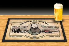COOPERS BREWERY BEER  THOMAS COOPER BAR RUNNER MATBEER MAT