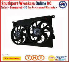 Genuine AU Falcon Forte Fairlane Fairmont 6/8 Cyl Thermo Fans Radiator Cooling