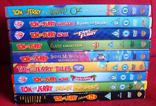 10 Tom and Jerry DVDs, collector's edition 1 2, wizard, shiver,paws, furry movie