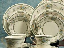 VINTAGE Royal Doulton ADRIENNE FULL SET 6 Dinner cups Plates EXCELLENT