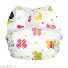 Imagine Baby Newborn Cloth Diaper Cover (Fits 5-13 lbs): Flutter Print - Snap