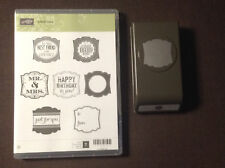 Stampin' Up! Label Love with coordinating punch
