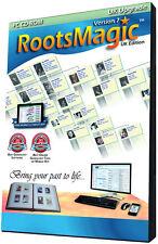 RootsMagic UK Version 7 Upgrade (Genealogy Software)