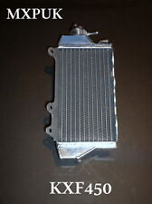 KXF450 2011 RIGHT SIDE RADIATOR MXPUK PERFORMANCE RAD 2010 KXF 450 KX450F (061A)