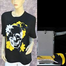 Alexander McQueen New sz 44 - 8 Authentic Womens Designer Top Skull T-Shirt