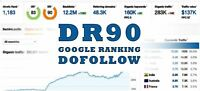 #1 Selling - DR90 Backlink SEO off-page Dofollow permanent link High Authority