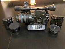 Canon Xh A1 Mini Dv, Flash Media Camcorder 72mm WideAngle lens 2x telephoto lens