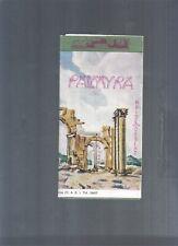 SYRIA PALMYRA TADMOR OLD TOURIST BROCHURE