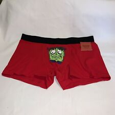 MOSSIMO MEN'S Boxer Briefs Size Large FRANKENSTEIN HALLOWEEN  New