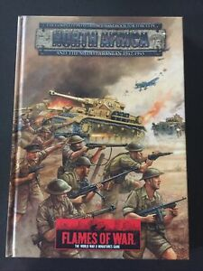 Flames Of War. North Africa Rulebook. Hardcover.