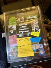 Full Size InFoPak Outdoor Literature Real Estate Brochure Flyer Dispenser Box