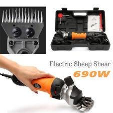 Powerful Electric Sheep Shear Clipper Wool Cut Goat Pet Farm Supplies 690W 220V