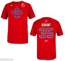 Adidas KEVIN DURANT Oklahoma Thunder NBA ALL STAR Jersey-T SHIRT Basketball~Sz L