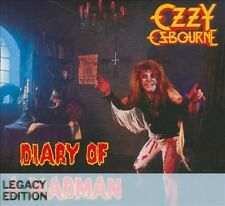 OZZY OSBOURNE - Diary of a Madman: Legacy Edition [New CD] Remastered 2 CD