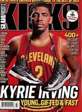 Slam Magazine - KICKS - 2012 Sneakers - CLEVELAND CAVALIERS KYRIE IRVING