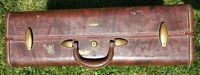 """Vintage Samsonite Shwayder Brothers Luggage Brown Suitcase 24"""""""
