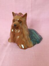 Wade 1944 Porcelain China Yorkshire Terrier Ornament Figurine Collectible