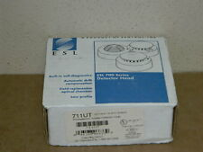 NEW ESL 711UT PHOTO ELECTRIC SMOKE DETECTOR HEAD (13 AVAILABLE) FIRE ALAWM