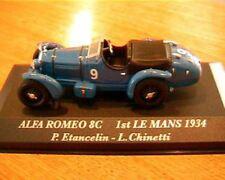 ALFA ROMEO 8C 1ERE AU MANS 1934 ETANCELIN 1/43 RACING