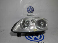 PROIETTORE FARO SINISTRO OPTICAL UNIT HEADLIGHT LEFT VOLKSWAGEN TOURAN ORIGINALE