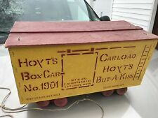 Hoyts Hoyt's Antique Old But A Kiss Boxcar Amesbury Mass Ma Candy Advertising Co