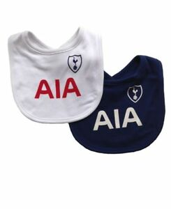 Tottenham  FC Baby Bib...2 Pack...Official Club Merchandise