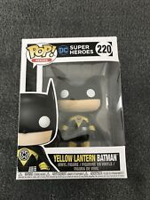 Batman Yellow Lantern Batman Exclusive Pop! Vinyl Figure 220 FUNKO DC Wayne