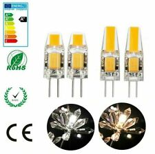 3W 6W G4 Ampoule LED COB Spot Light AC DC 12V Blanc chaud 3000K