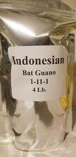 Indonesian Bat Guano 1-11-1 4 Lb. High Phos Organic Plant Fertilizer Super Soil