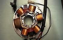 Italjet formula 125 ignition stator rewind service.