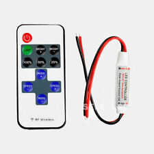 11 Key RF Wireless Controller IR Remote For Single Color LED Strip Light