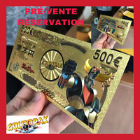 PREVENTE BILLET TICKET FIGURINE GOLDORAK ACTARUS MANGA CARTE COLLECTOR GOLD OR