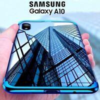 COVER per Samsung Galaxy A10 CUSTODIA ELECTRO Case + PELLICOLA VETRO TEMPERATO
